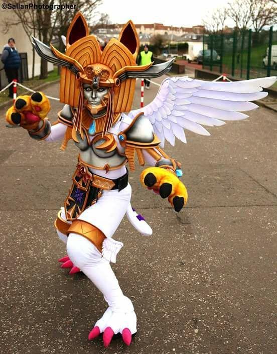 Cosplay Digimon