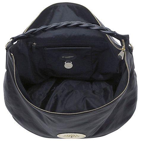 Buy Mulberry Daria Leather Medium Hobo Bag Online at johnlewis.com ... 49541d8c9422e