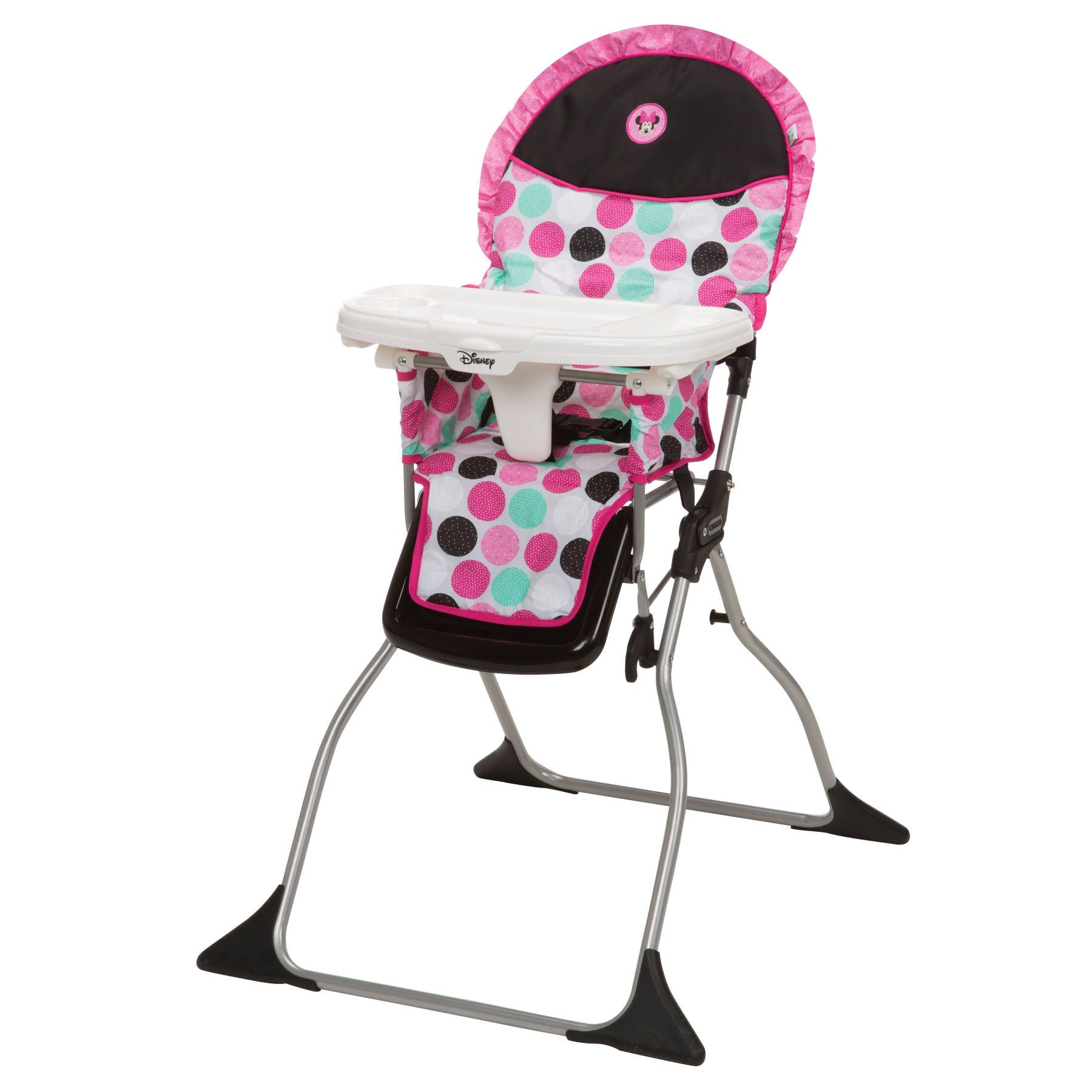 Minnie mouse dotty simple fold plus high chair from