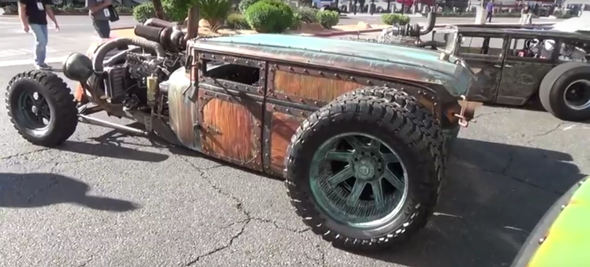Semi Truck Tires Near Me >> WelderUp's Dually Rat Rods Have Steampunk Look Nailed | I ...