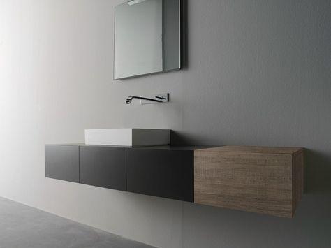 BLOCK2 Mobile lavabo con ante by Moab 80 design Gabriella ...