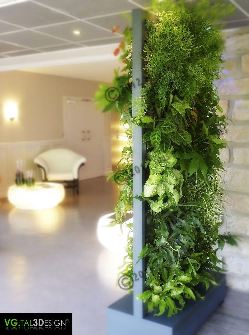 http://www.mur-vegetal-interieur.fr/ | Deco | Pinterest | Raumteiler