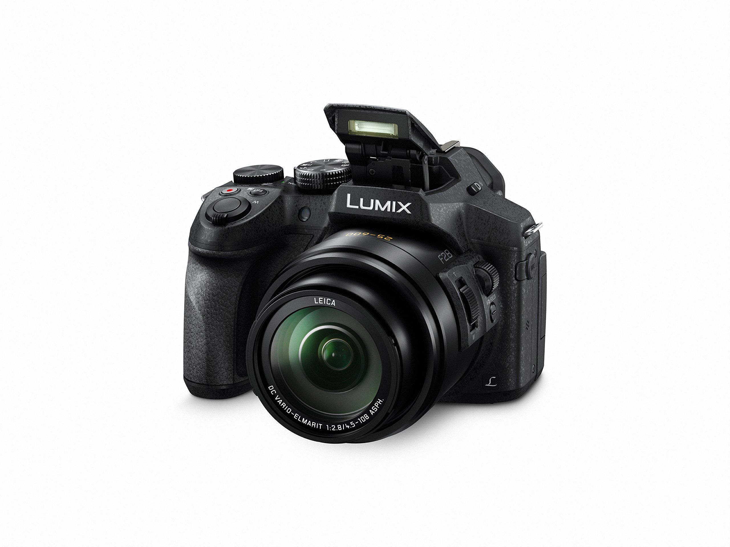 Panasonic Lumix Dmcfz300k 12 1 Megapixel 1 2 3inch Sensor 4k Video Splash Point And Shoot Camera Camera With Flip Screen Panasonic Lumix