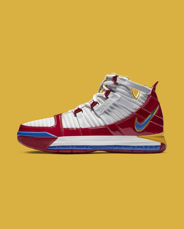Nike LeBron 3   Custom sneakers nike