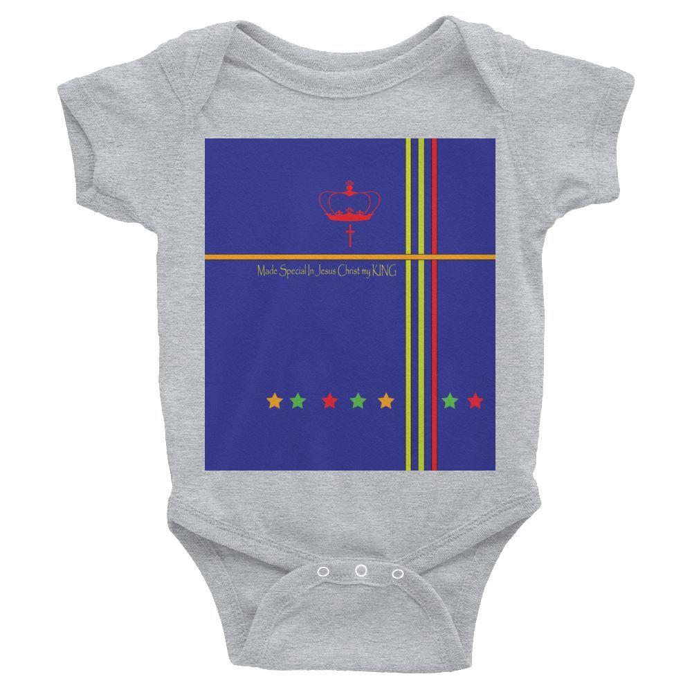 Infant short sleeve one-piece