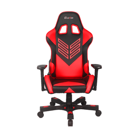 Clutch Chairz Premium Gaming Computer Chair Black Red 1 Pack Walmart Com Gaming Chair Lumbar Support Cushion Computer Chair
