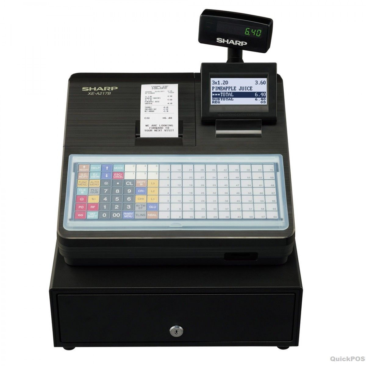 Buy Cash Register Sharp Xea217 Cash Register With Flat Keyboard Dolls
