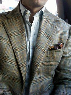 Looks con los que la chaqueta de cuadros no será como la de