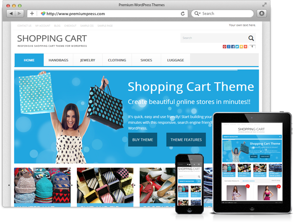 PremiumPress Responsive Shopping Cart Theme (WordPress) | Best ...