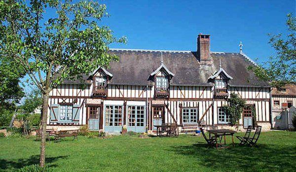 Maison d h tes vendre en normandie le pin calvados - Chambre d hote de charme deauville ...