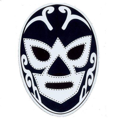 Hurican Ramirez Mask Sticker Lucha Libre Mexicana Lucha Libre Mascaras Lucha Libre