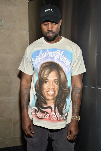 Kanye West Shows Love For His Late Mother Donda West And Kim S Kanye West Kanye West Show Adidas Superstar Women