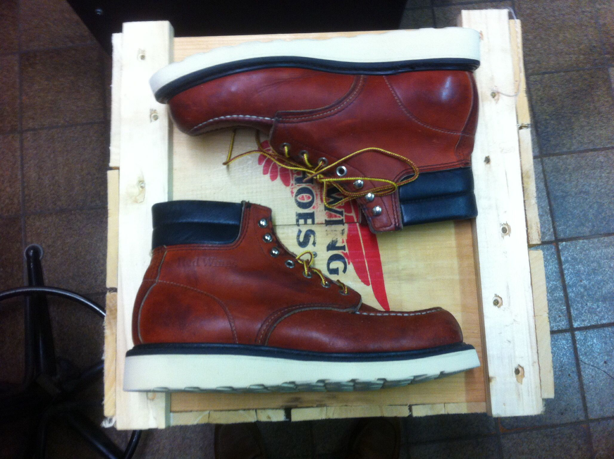 The iconic Red Wing 8804 Boot