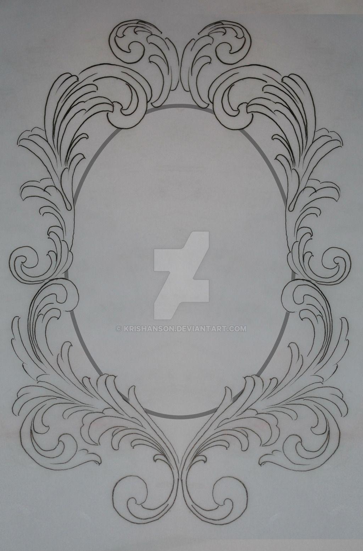 oval frame tattoos - Google Search   tattoo   Pinterest   Bilder