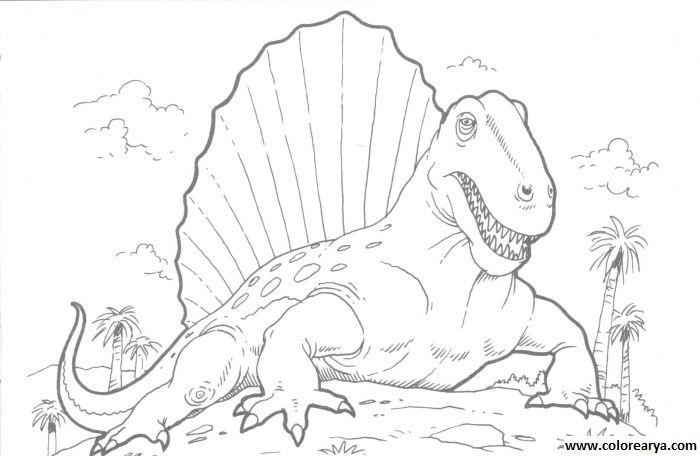 Dinosaurios para colorear - hyperpost | Dinosaurio | Pinterest ...