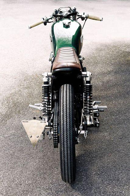 Honda CB250 Cafe Racer By Blackbean Motorcycles Caferacer Motos