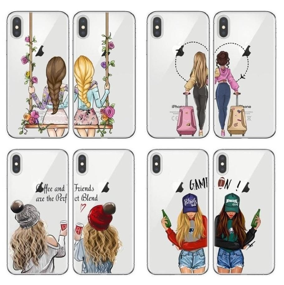 Best Friends BFF Matching Phone Cases