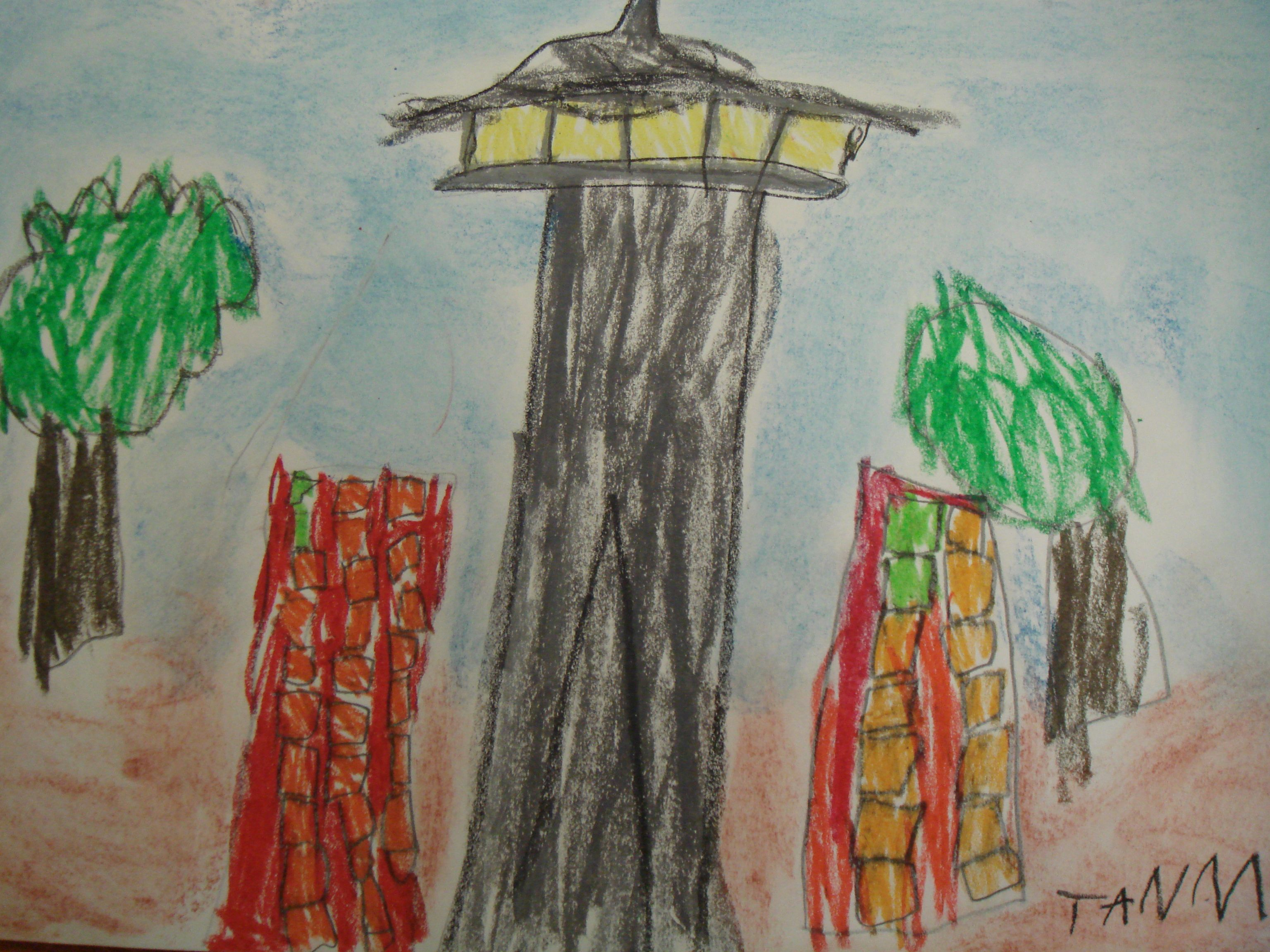 Space Needle by Tanmay