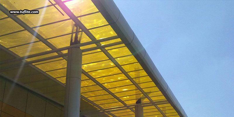 Why Is Polycarbonate The Best Option For You Tuflite Polymers Roof Panels Polycarbonate Roofing