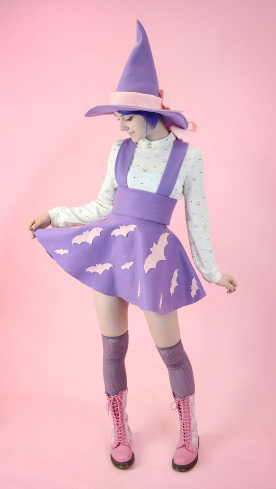 Pastel Halloween: for those of us who are creepy AND cute