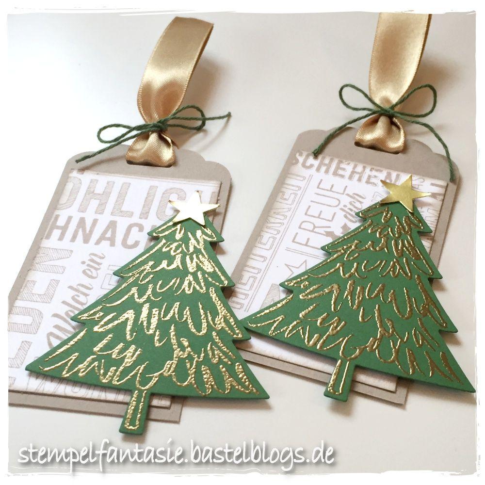 stampin up weihnachten christmas tag anhaenger tannenbaum