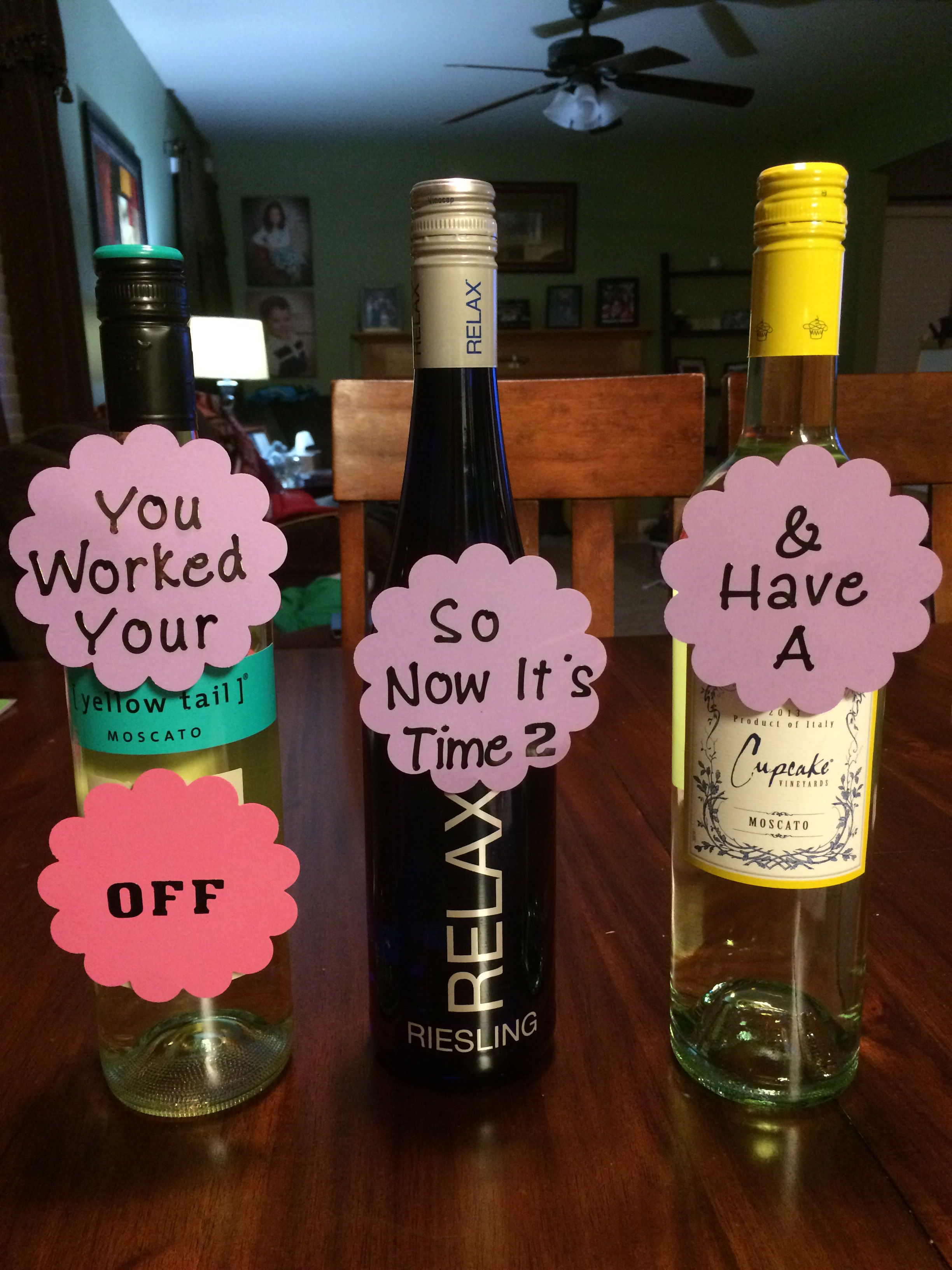 College Graduation Gift Super Simple And Who Doesnt Love Wine