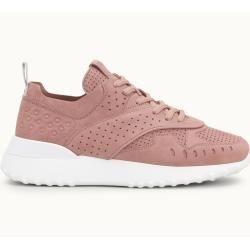 Photo of Tod's – Sneakers aus Nubukleder, Rosa, 37 – Shoes Tod's