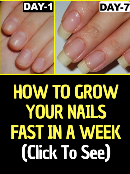 How To Get Hair And Nails To Grow Faster