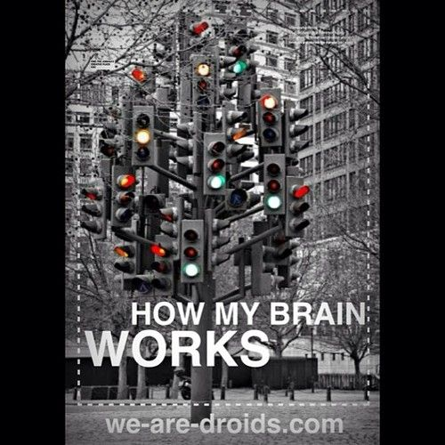 Chaos. #wearedroids #thoughts #graphicdesign #graphic #thinking #sweden #sverige #mymind #crazylikeafox :)