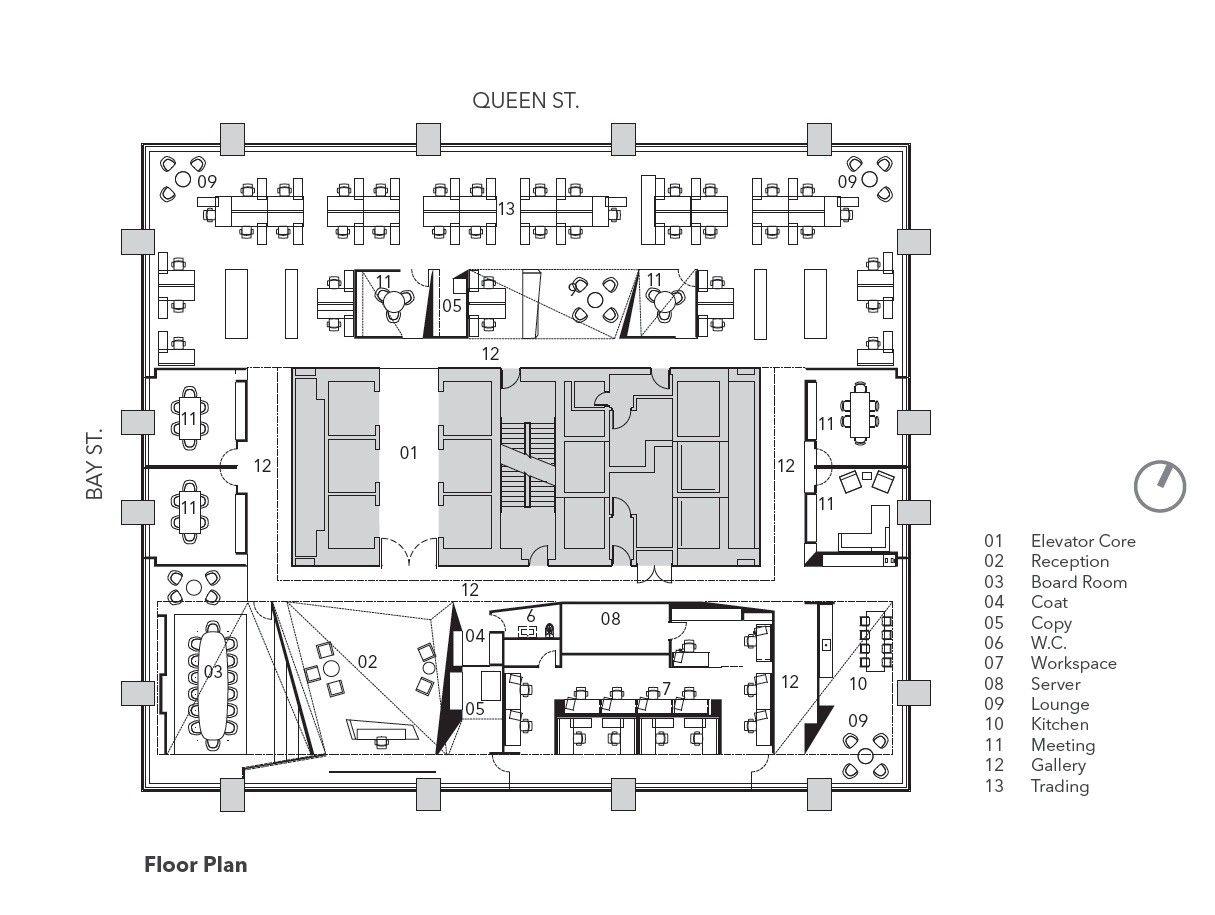Gallery Of Polar Securities Office Maclennan Jaunkalns Miller Architects 11 Office Floor Plan Office Layout Plan Office Plan