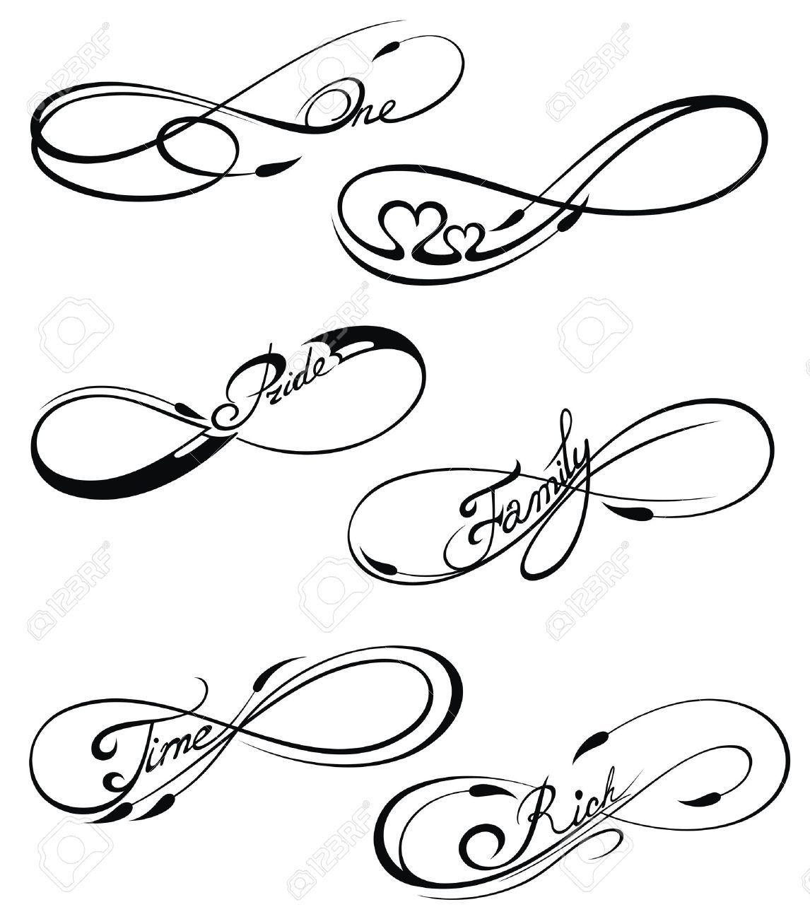 Infinity Symbole Kleine Tattoo Ideen Tattoos Vorlagen Unendlichkeitszeichen Tattoo