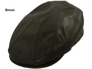 1f735c3f4ff New York Leather Driving Cap