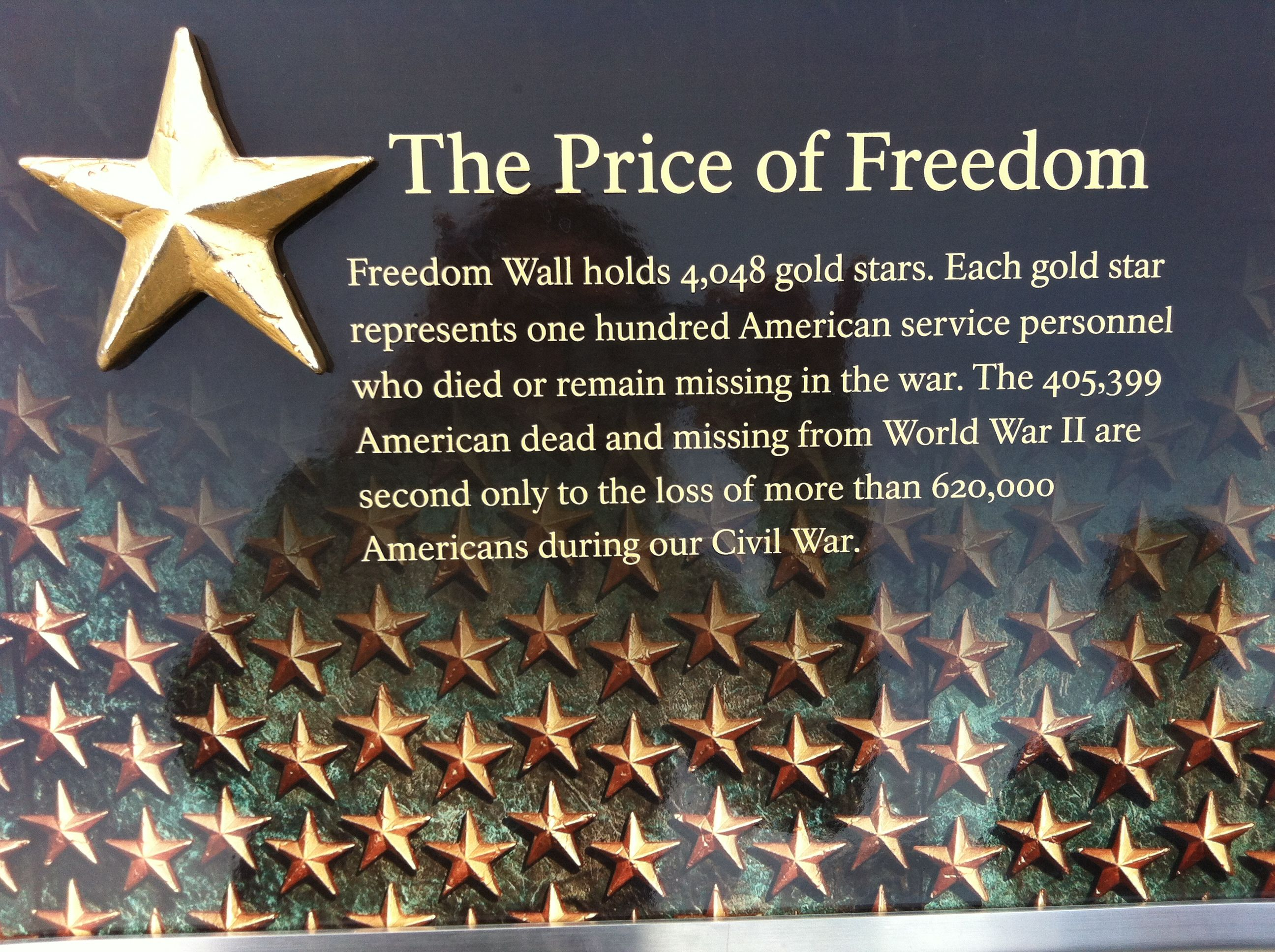 The Price Of Freedom Comes With A Heavy Cost That Can Never Be Replaced And Only Honored Dc 2012 Freedom Wall Freedom World