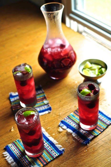 ¡Hola! Jalapeño: Sour Cherry Caipirinha