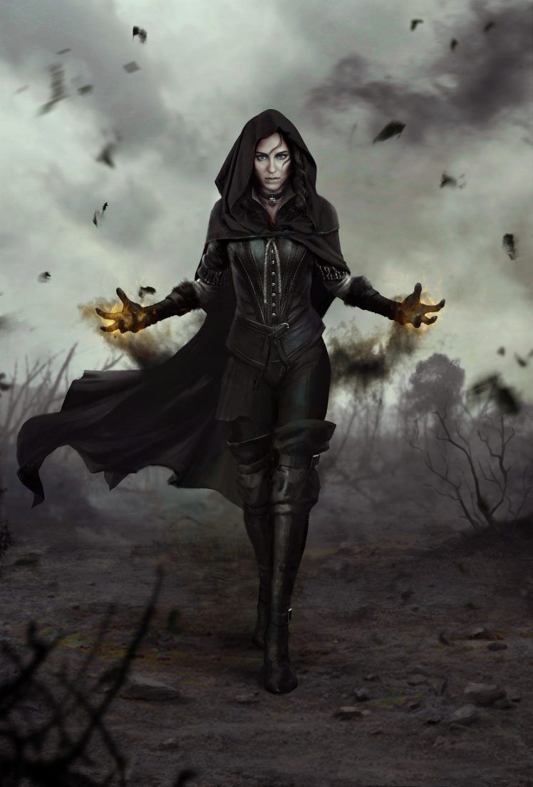 The Witcher Yennefer Of Vengerberg Wallpapers Hd Desktop And