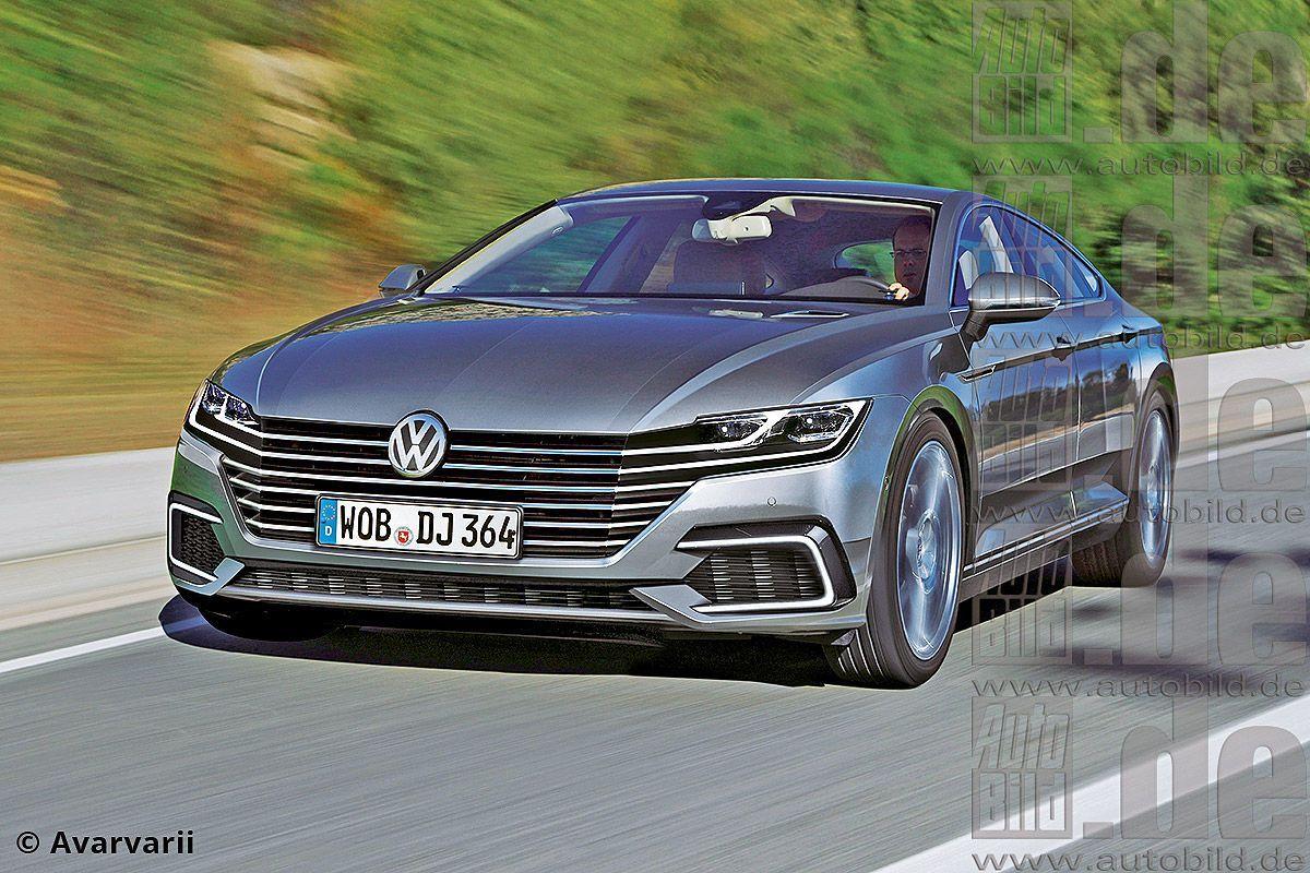 VW Sport Coupé Concept GTE Illustration VolkswagenPassat