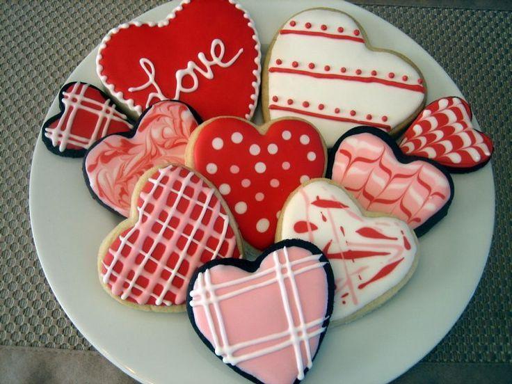 Image Result For Valentine Decorated Sugar Cookies Sugar Cookies