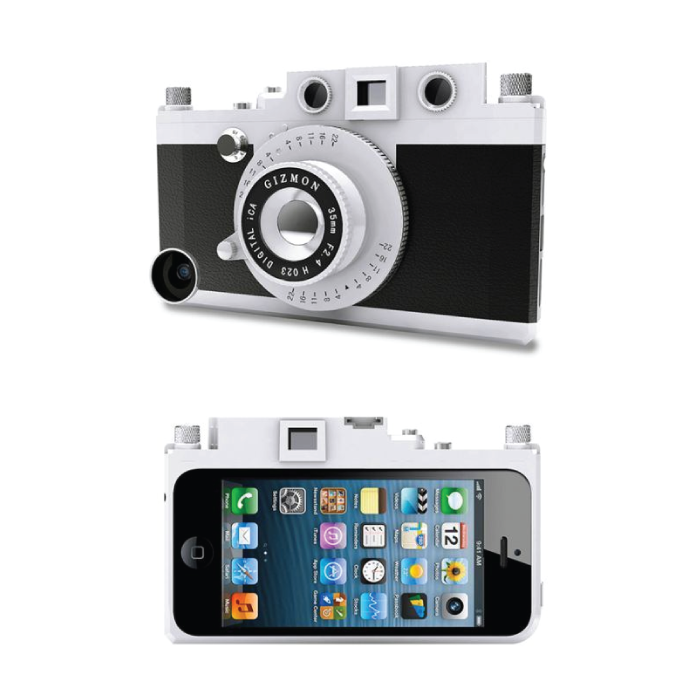 Transform phone to rangefinder camera in a flash
