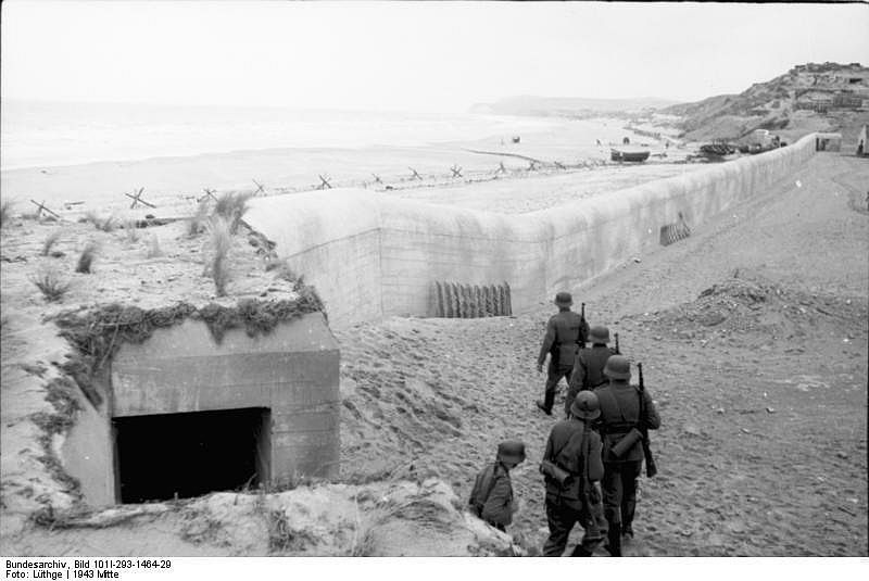 Coastal defenses - Preparing for Invasion - 1943