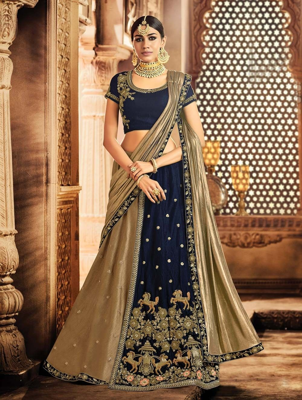 1a19a9a8f9 Upcoming Latest Bridal Lehenga Styles 2018-2019 Indian Trends ...