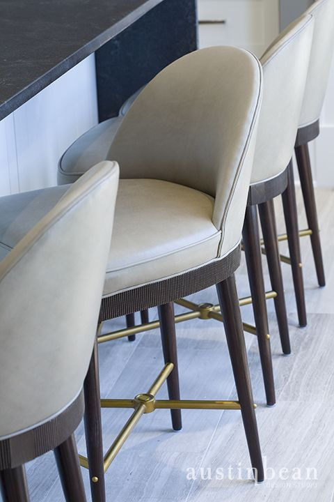Classic Counter Stools Add Practical Sophistication In The