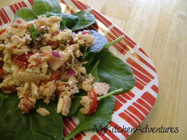 Renee's Kitchen Adventures: Mediterranean Style Tuna Salad