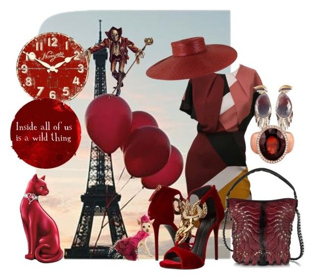 """""""WALKING IN PARIS"""" by velvetviolet ❤ liked on Polyvore featuring art"""