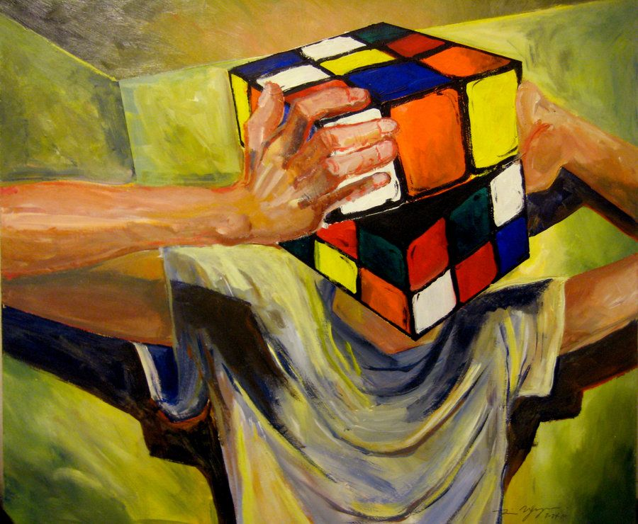 The Hardest Puzzle to Solve | Art, Painting, Brain art