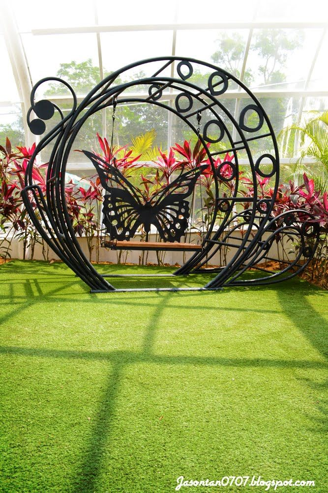 Swing Chair Penang Office Waiting Room Chairs Cheap Butterfly Farm Wrought Iron Projects