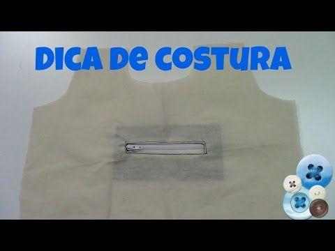 Como fazer bolso embutido com zíper | ModaByNill - YouTube