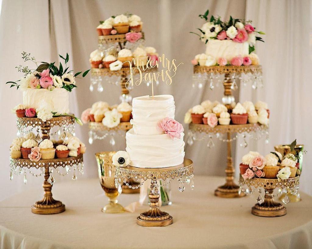 Wedding Cake Dessert Table Sweetforsirten Antique Gold Cake Stands Opulenttreasures Wedding Cake Stand Gold Gold Dessert Table Wedding Dessert Table
