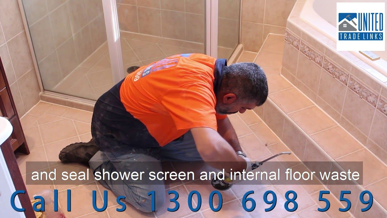 How To Repair Your Leaking Shower Without Removing Tiles Clear Waterproo How To Remove Tile Removal Grout Repair