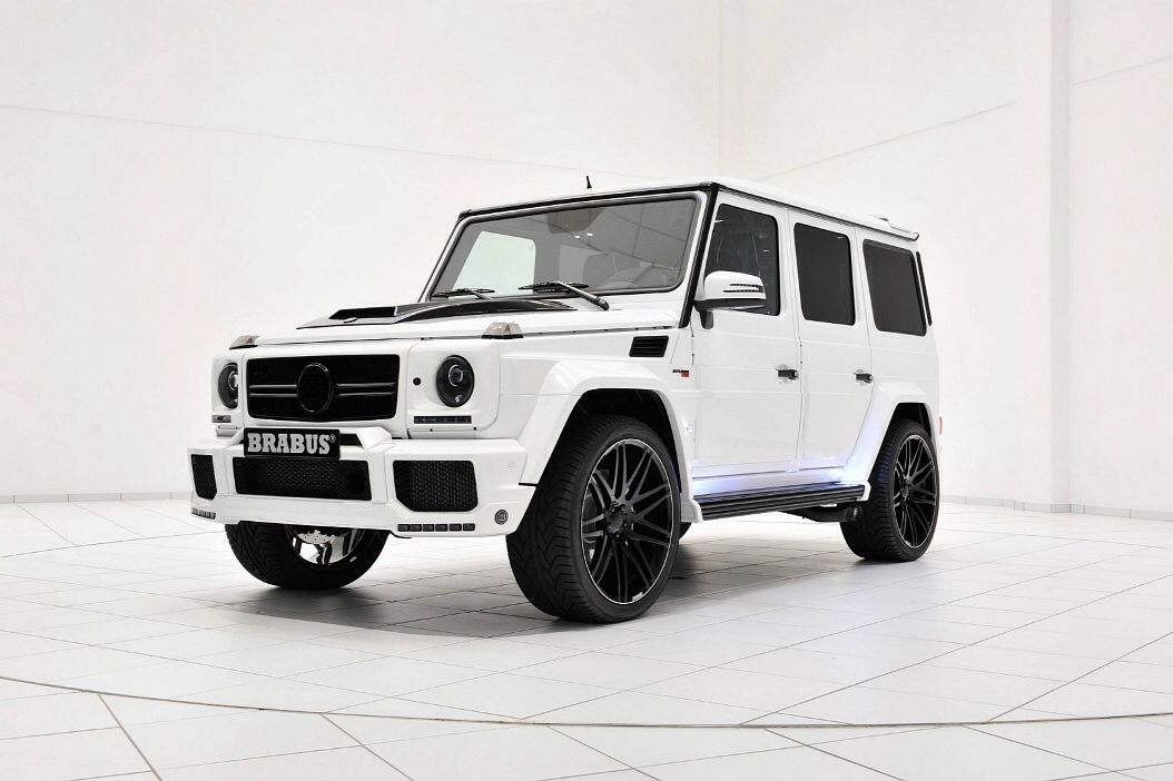 Brabus Gives The G63amg A Storm Trooper Look Mercedes G Wagon