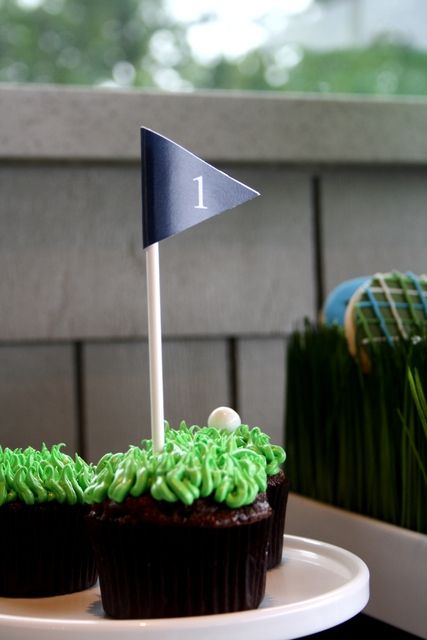 """Photo 2 of 31: Golf Birthday / Birthday """"Golf Birthday Par.Tee"""" 